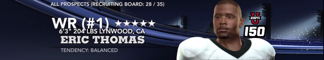 NCAA 11 Recruiting Bible Part One: 10 Tips for Filling the Board
