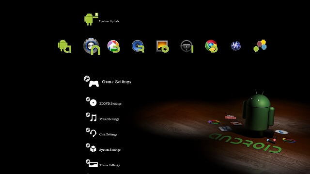 Free PS3 theme Android booya gadget