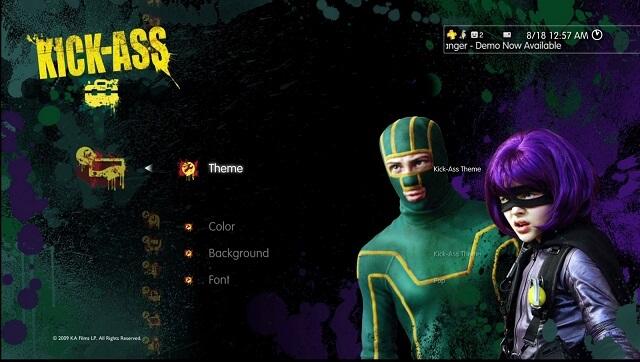 PS3 Theme Kickass