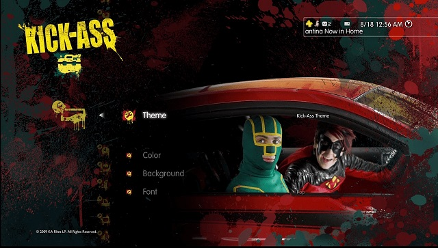 PS3 Theme Kickass