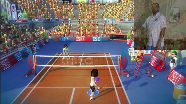 PS3 Move Racquet Sports Badminton Gameplay Rally