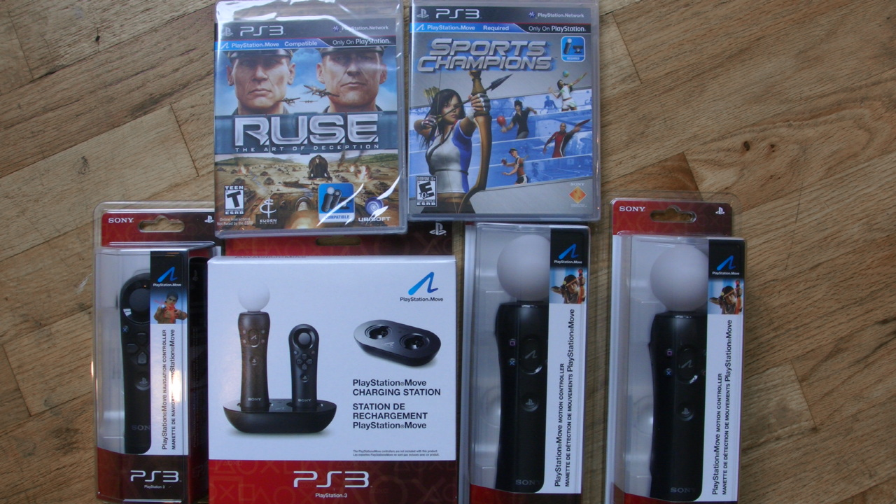 My personally selected PS3 Move Start Bundle