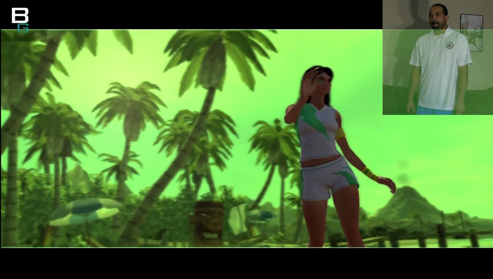 Image of PS3 Move Volleyball Giselle Sports Champions Gameplay