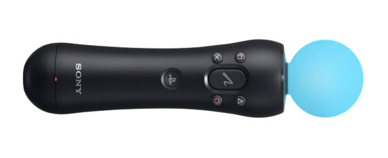 Blue Playstation Move Controller