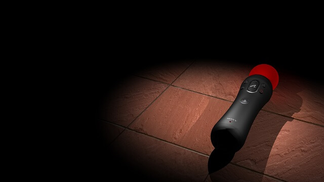 PS Move Theme Sony Playstation 3 controller Red