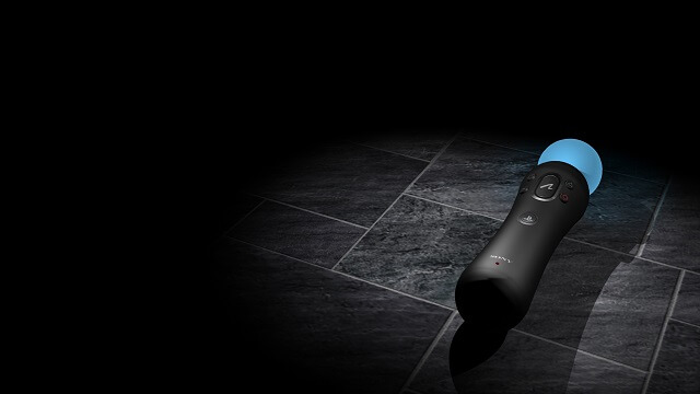 PS3 Move Theme Blue Rotating Image