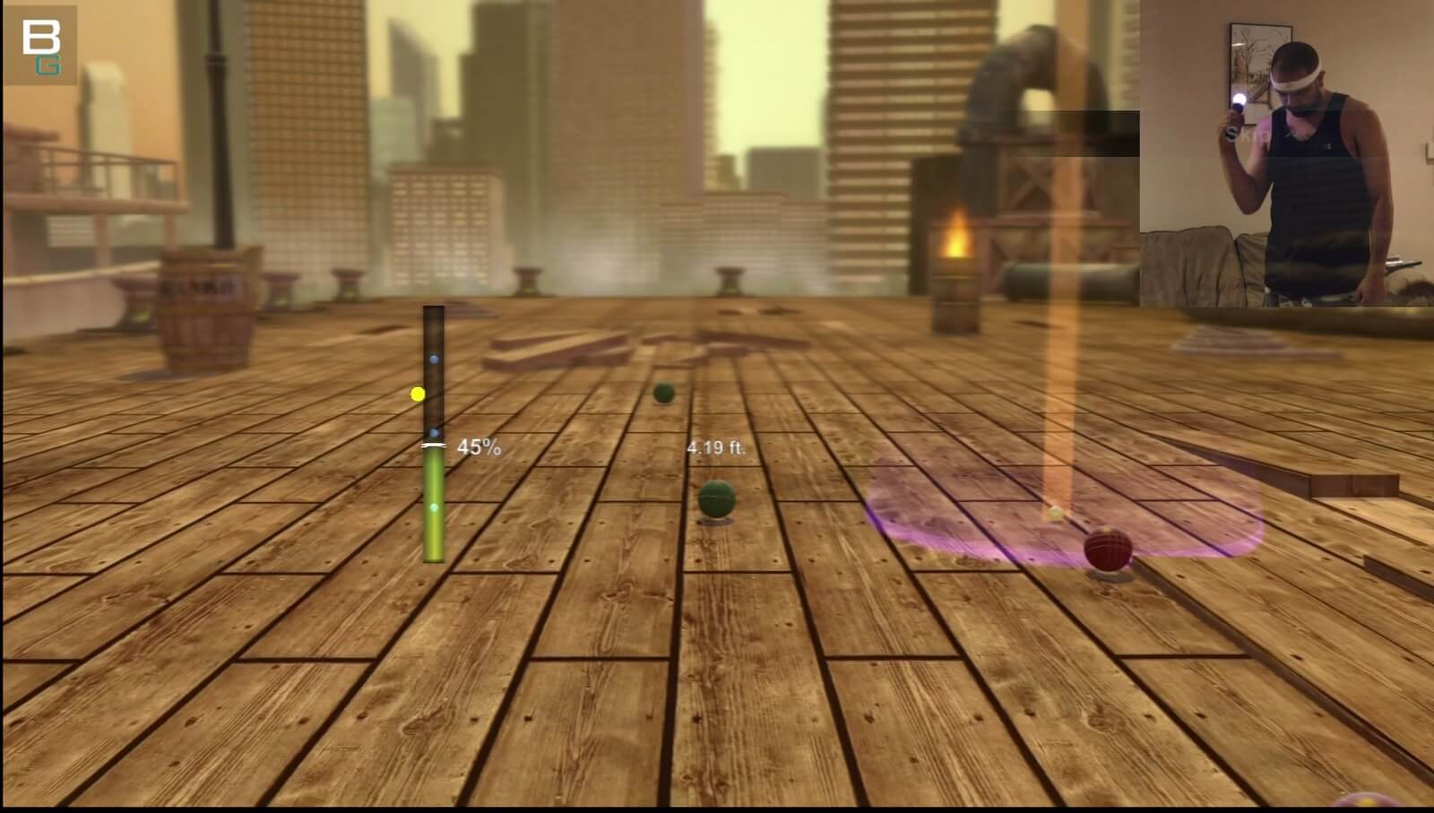 PS3 Move Sports Champion Bocce Gameplay