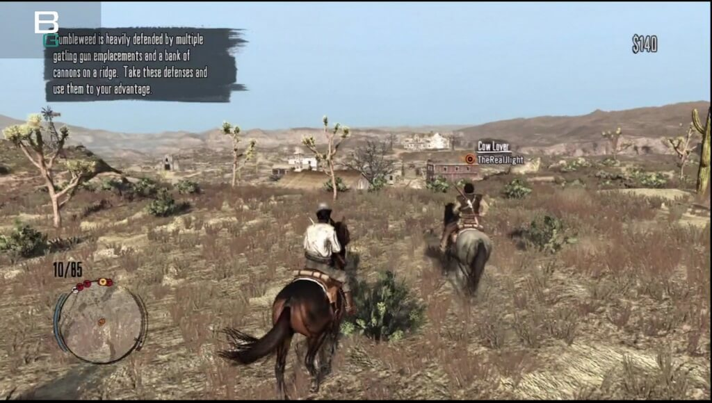 Red Dead Redemption Multiplayer Co-Op Mission Booya Gadget