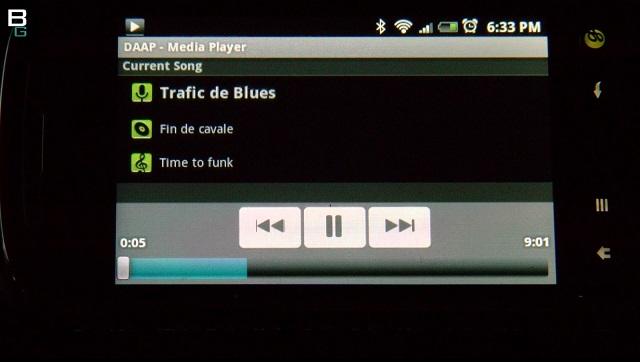 freeNAS Android Stream Audio DAAP Firefly Music