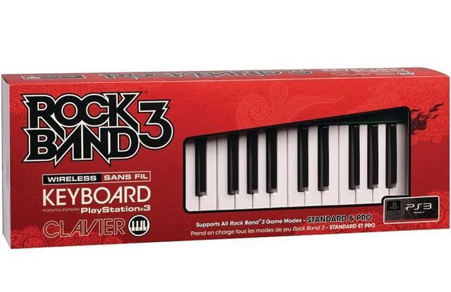 PS3 Rock Band 3 Keyboard on Amazon