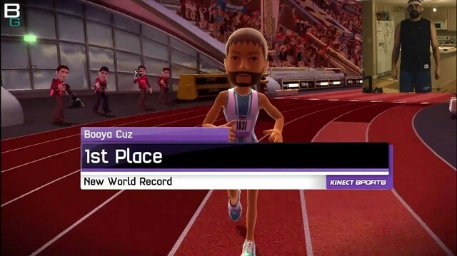 Kinect Sports Track n Field XBox 1st Place Booya Gadget