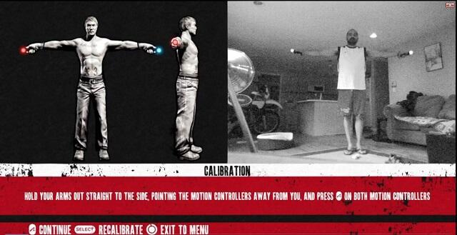 PS3 Move The Fight Calibration Screen Demo