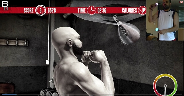 PS3 Move The Fight Speed Bag Training