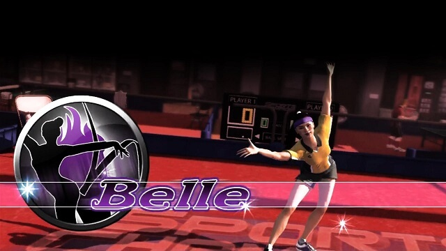 Sports Champions Female Characters Belle Booya Gadget