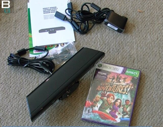 XBox Kinect Adventures Bundle Unbox Booya Gadget