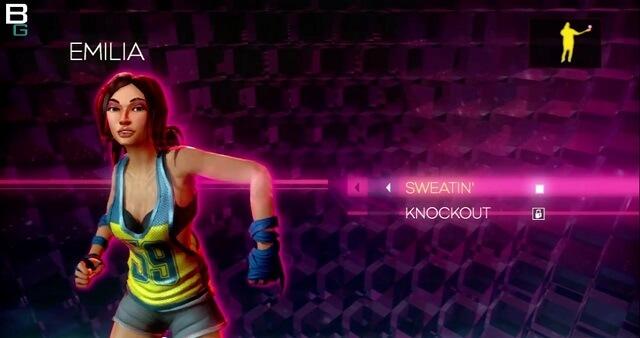 XBox Kinect Dance Central Impressions Emilia