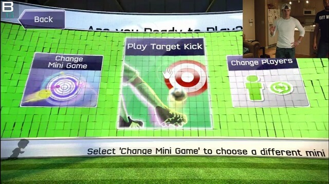 XBox Kinect Sports Soccer Target Kick Mini Game Booya Gadget