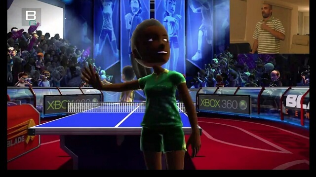 XBox Kinect Sports Table Tennis Hands On Ping Pong Character