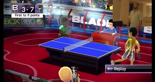 XBox Kinect Sports Table Tennis Hands Tips Trick