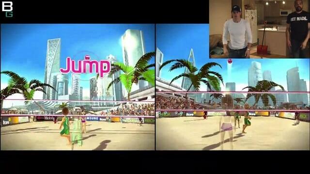 XBox Kinect Sports Volleyball Gameplay JUMP Booya Gadget