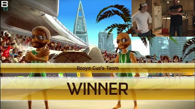 XBox Kinect Sports Volleyball Gameplay WINNER Booya Gadget