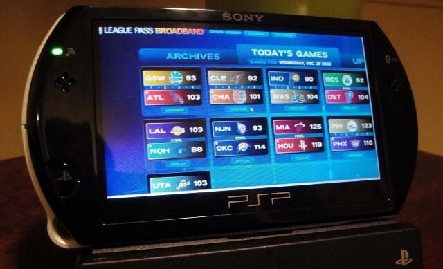 NBA LP Game Selection Screen Booya Gadget
