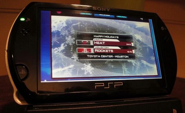 NBA LP Heat V Rockets Booya Gadget