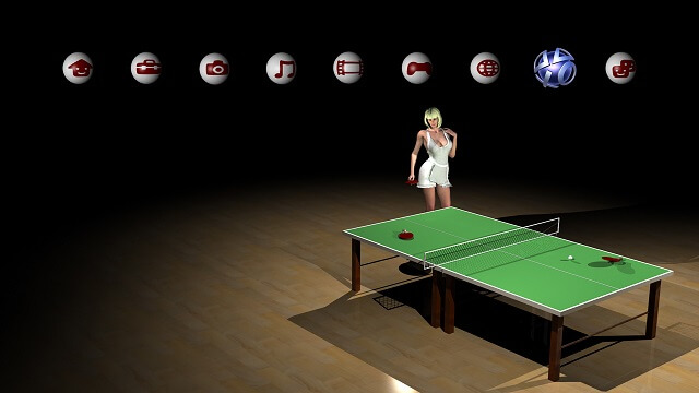 Table Tennis PS3 Theme Booya Gadget