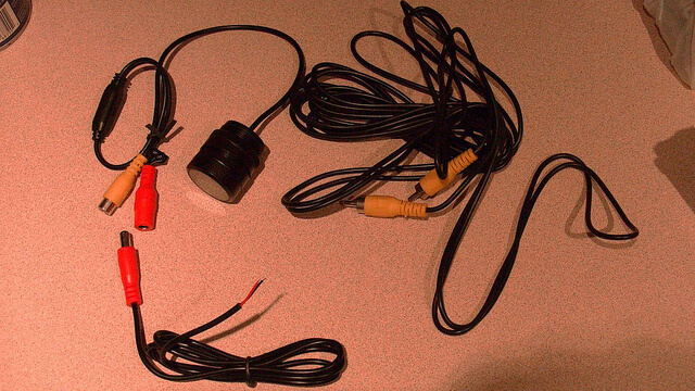 DBC366 Backup Reverse Camera DP Video Cables Unboxed booya gadget