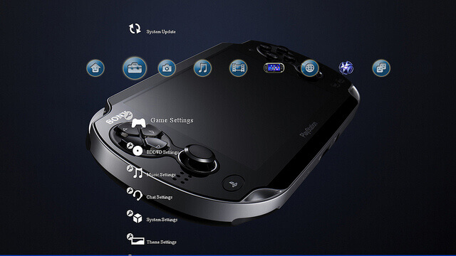 Free Next Generation Portable Vita PS3 Theme booya gadget