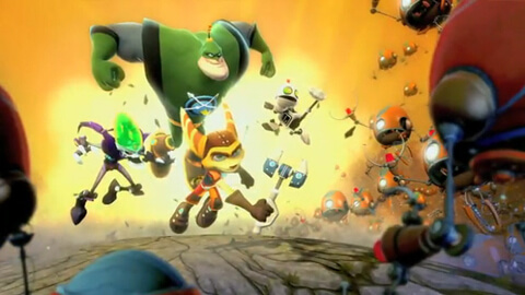 Ratchet and Clank All for One Insomniac Games Booya Gadget