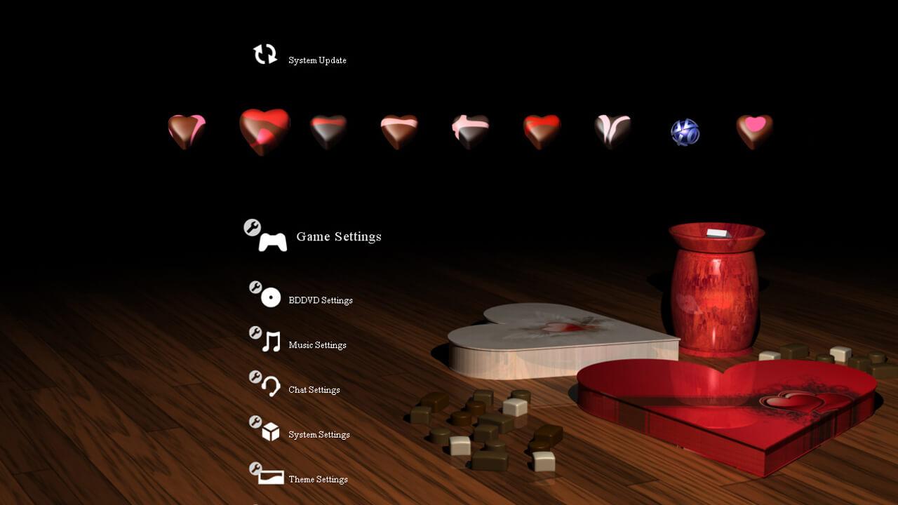 Free Valentines Day PS3 Theme Custom Cupid Mini – Booya Gadget