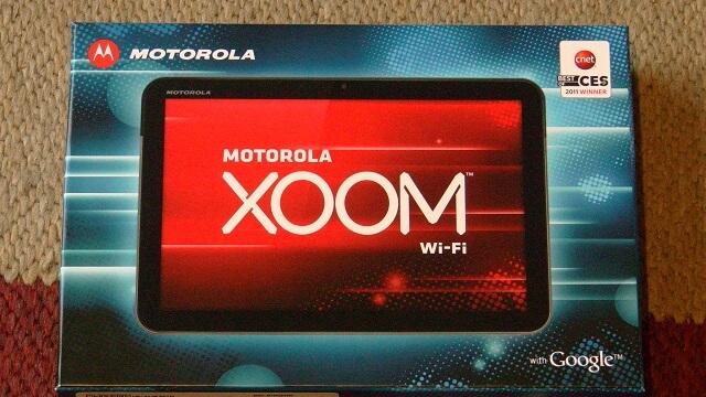 Motorola Xoom Android Honeycomb Pre Unbox booya gadget