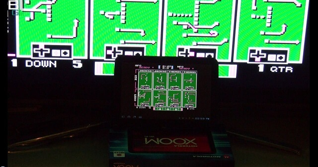 NES SuperTecmo Bowl HDMI out android booya gadget