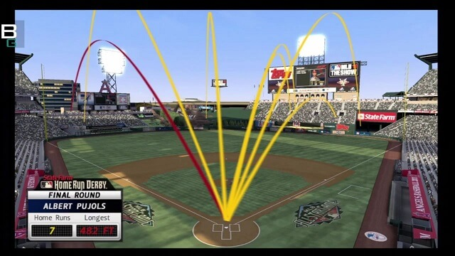 PS3 Move baseball MLB 11 The Show Homerun Derby booya