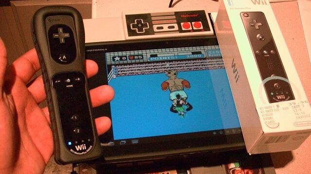 android nintendo Wiimote booya gadget