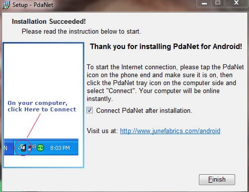 Best Android Apps - PdaNet Tether Android to PC BooyaGadget