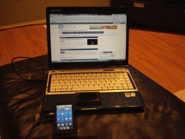 PdaNet Tether Android to PC My Setup