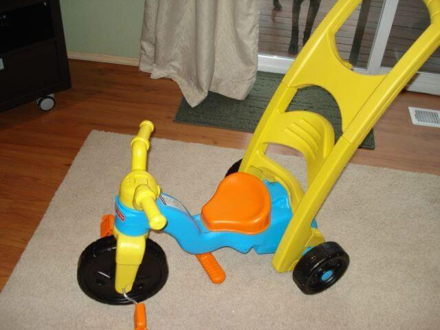 Fisher Price Toddler Tricycle review Parent Push BooyaGadget
