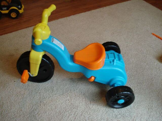 Fisher Price Toddler Tricycle Side View Booya Gadget