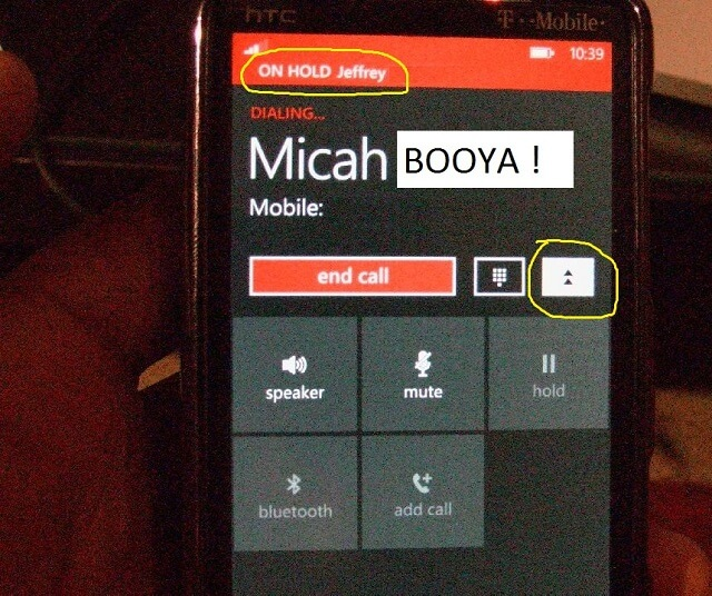 How to 3-way Conference Call on Windows Phone 7 Tutorial Booya Gadget