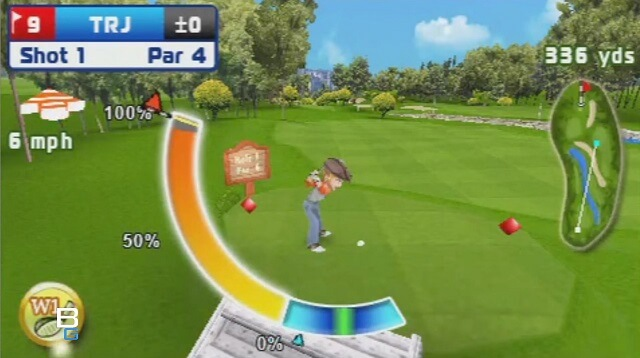 PSP MINI Lets Golf Review Booya Gadget Swing Meter