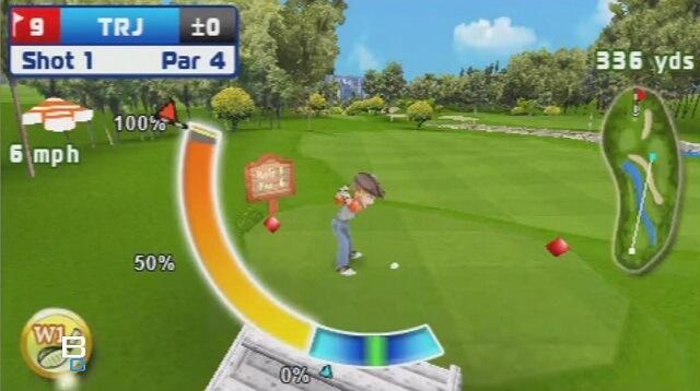 PSP MINI Lets Golf Review Booya Gadget Swing Meter