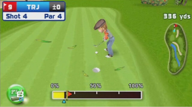 PSP MINI Lets Golf Review Booya Gadget Putting