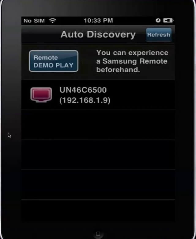 iPhone Samsung Remote App for TV Auto Discovery Booya Gadget