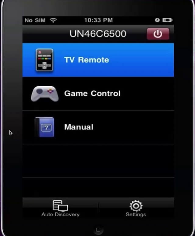 iPhone Samsung Remote App for TV 6500 Booya Gadget