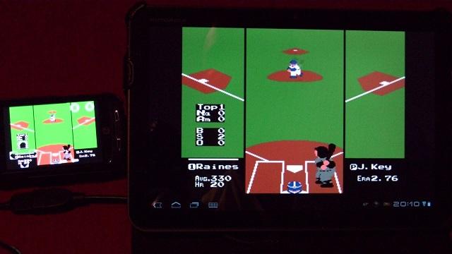 How to Multiplayer Nesoid Nintendo NES 8Bit Booya Gadget RBI Baseball