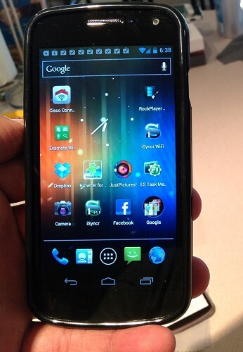 How To Screen Capture with Galaxy Nexus