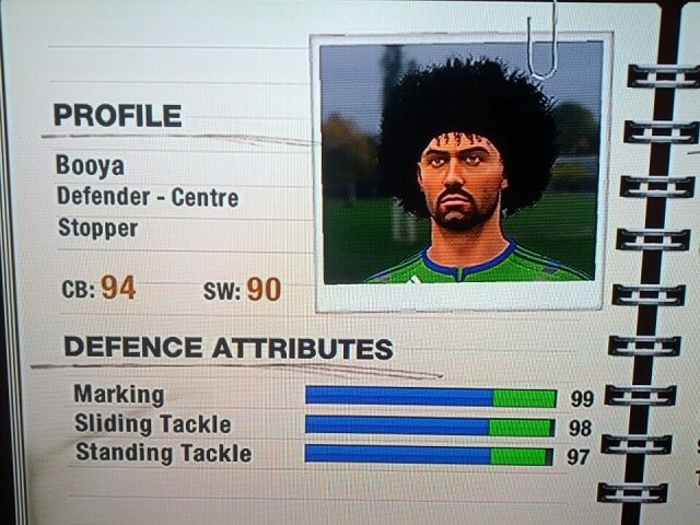FIFA 12 Defensive Player Bible Part 1 Setup Traits and Physical Size