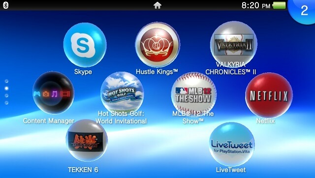 PS VIta Best Apps and games Starter Booya